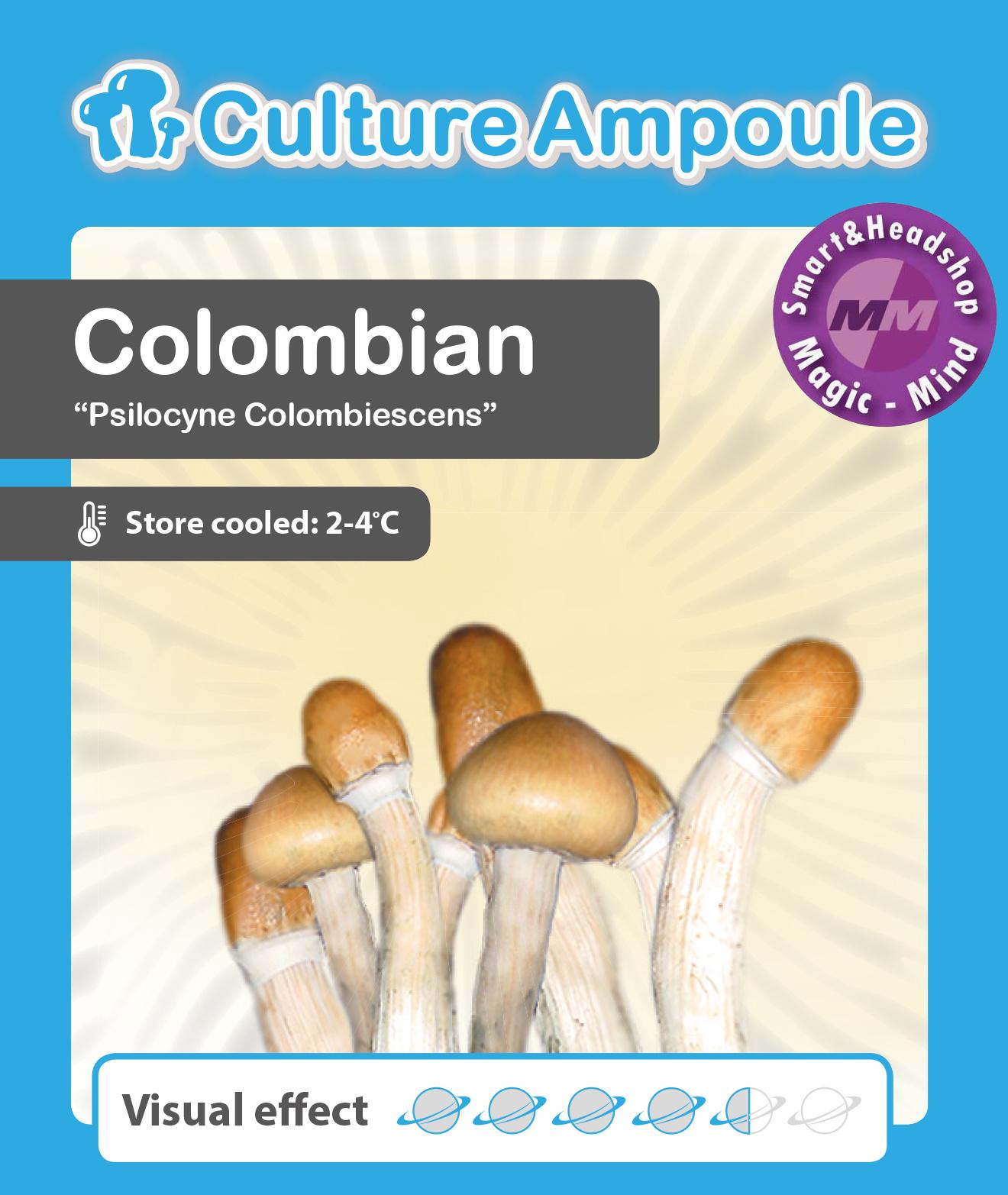 Culture Ampoule Set Colombian Mushroom Spore
