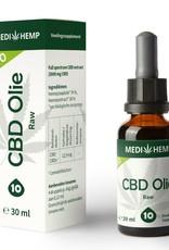 Biologische CBD olie 10% 30ml