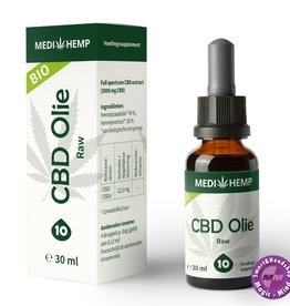 CBD olie RAW 10% 30ml