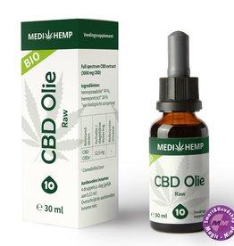 Medihemp CBD olie RAW 10% 30ml