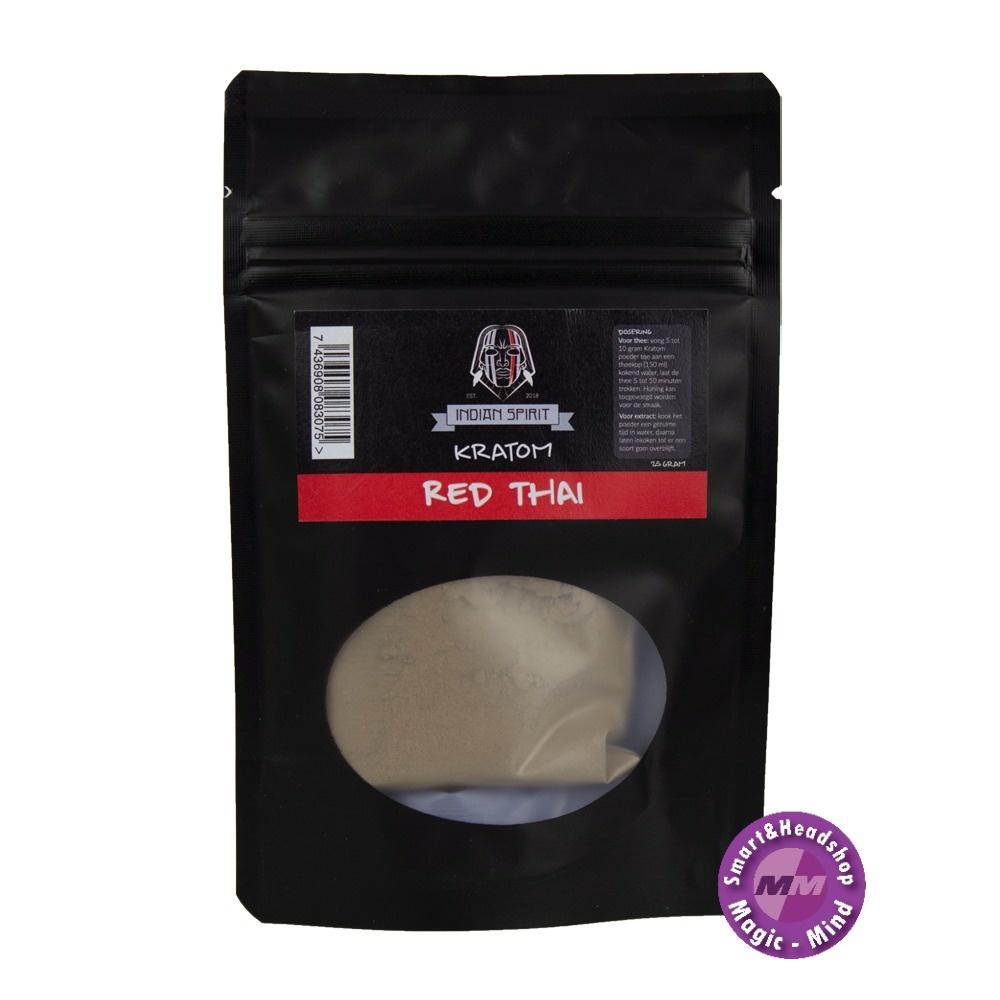 Indian spirit Indian Spirit Kratom – Red Thai 25 gram