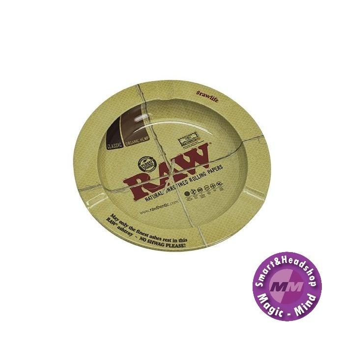 Raw RAW Metalen Asbak (14 x 14 cm)