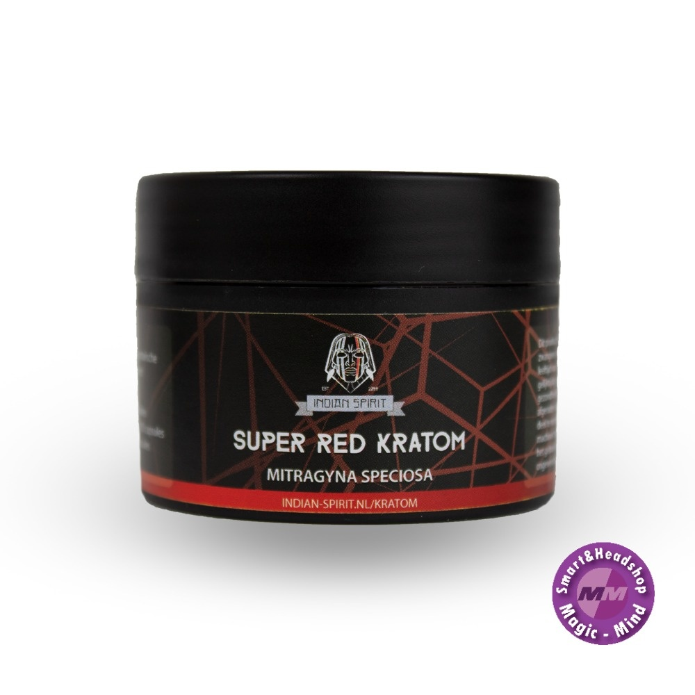 Indian spirit Indian Spirit Kratom – Super Red (30 capsules)