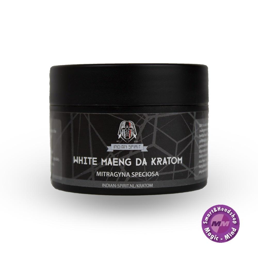 Indian Spirit Kratom – White Maeng Da (30 capsules) Indian Spirit Kratom – White Maeng Da (30 capsules)