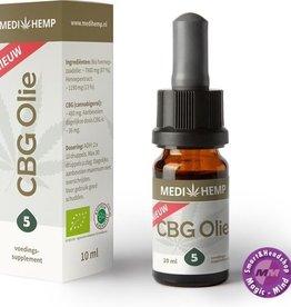 Medihemp CBG Olie 5% -10 ml