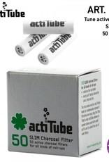 ActiTube actiTube | Activ Charcoal Slim 7mm Diameter Filters Box x50 pcs
