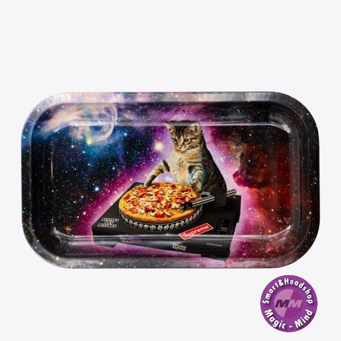 DJ Cat Metal Rolling Tray Large (L27cm/W16cm)