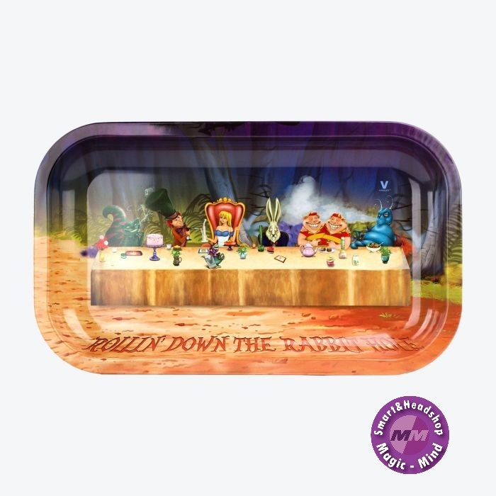 Alice In Grinderland Table Rolling Tray Large (L27cm/W16cm)