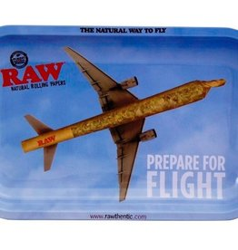 RAW RAW Metal Rolling Tray Flying High