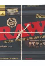 Raw Raw Black Metal Rolling Tray 17.5CM X 27.5CM