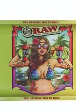 Raw RAW Metal Rolling Tray  Brazil (17,5 x 27,5)