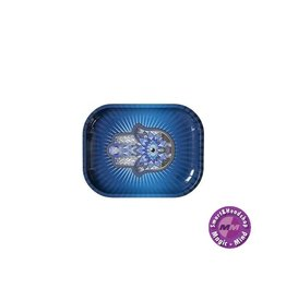 Hamsa Blue Rolling Tray Small