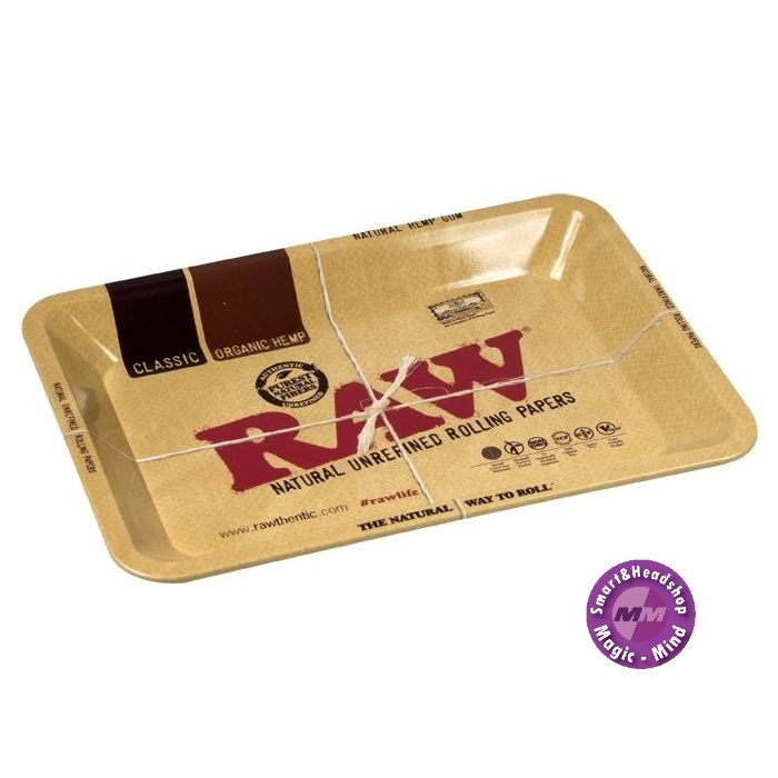 Raw RAW Metal Rolling Tray  (17,5 x 27,5 cm)