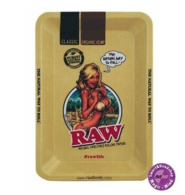 RAW RAW Metal Rolling Tray, Girl Small