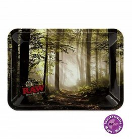 RAW RAW Metal Rolling Tray  Forest Small
