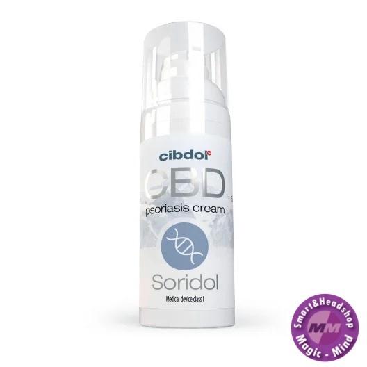 Cibdol Soridol (Psoriasis crème) 50 ml 100 mg CBD