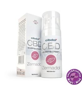 Cibdol Zemadol (Eczema cream) 50 ml 100 mg CBD