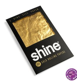 Shine Shine 24k Gold Rolling Papers – 1 1/4