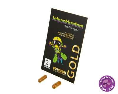 Jetpack Kratom Gold 80 mg extract capsules (JetpackKratom)