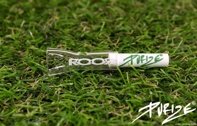 Purize ROOR ROOR X PURIZE GLASS TIP XTRA SLIM - BOROSILICATE GLASS