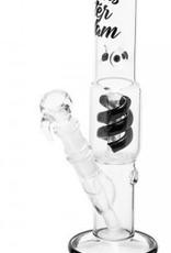 Amsterdam Glass Bong- H:28cm- Ø:40mm SG:18.8mm