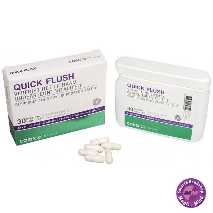 Cobeco Quickflush/Urine cleaner (30 Caps)