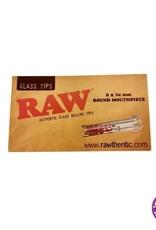 Raw RAW Glass Tips Round Mouthpiece