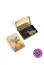TIN BOX - GOLDEN OWL
