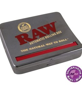Raw RAW Automatic Roll Box 110 mm Black Chrome