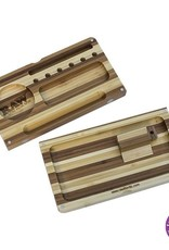 Raw RAW Bamboo Striped Backflip Filling Tray With Magnet