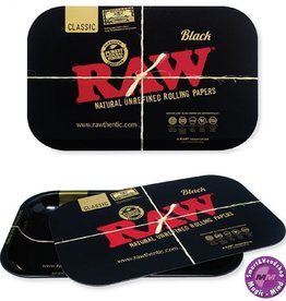 Raw Raw black Magnetic Rolling Tray Cover Small (27.5 X 17.5cm)