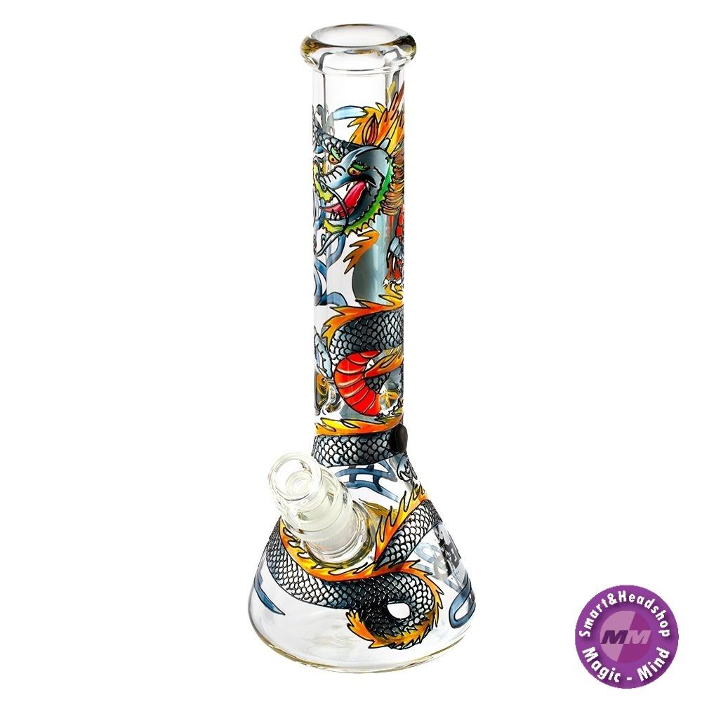 GG BONG Grace Glass | ART Series Dragon H:32cm - Ø:52mm SG: 29.2mm