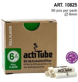 ActiTube actiTube | Activ Charcoal Slim 6mm Diameter Filters Box 50pcs in box
