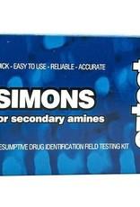 EZ Test Simons for secondary amines