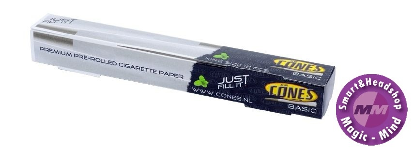 Cones Cones Basic Paper Tubes (12 pcs x 109 mm Box)