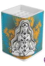 Cones Filling Unit For 25 Cones - Meditating Woman