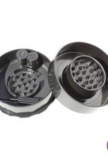Tightvac GrinderVac 0,07 liter/Up To 10 g Black Cap/Black Body