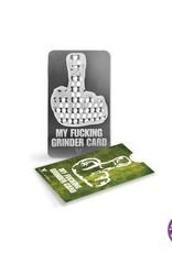 Credit card Credit Card Grinder, Middle Finger