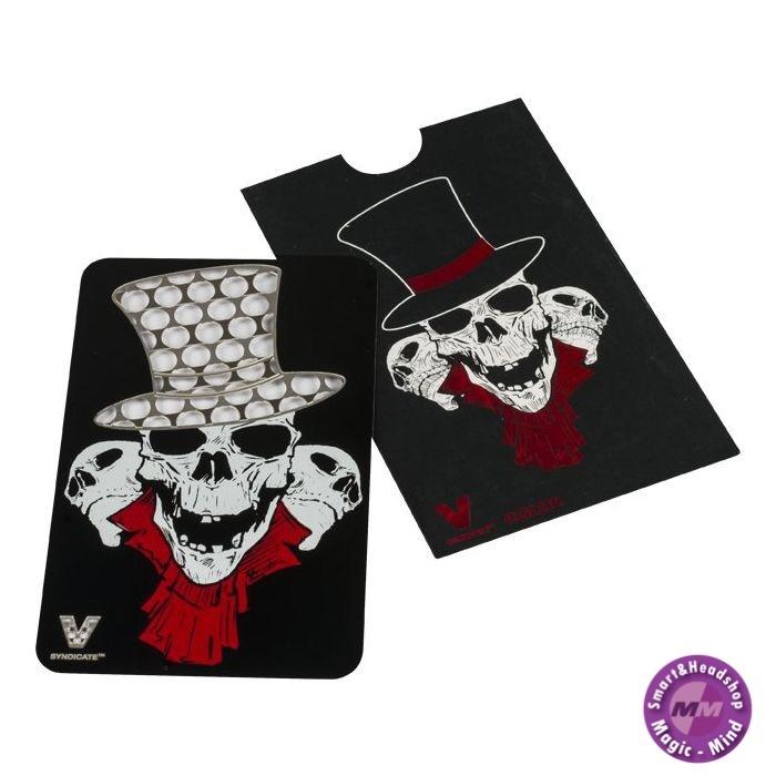 Credit card Credit Card Grinder, Skull Tophat
