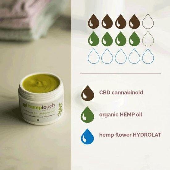 Hemptouch Beneficial CBD Balm - Hemp seed oil & Hemp hydrolate - 50 ml