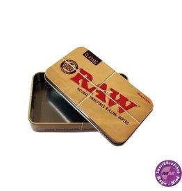 Raw tin case RAW Tin Case 11.5cm x 6.5cm x 2.4cm