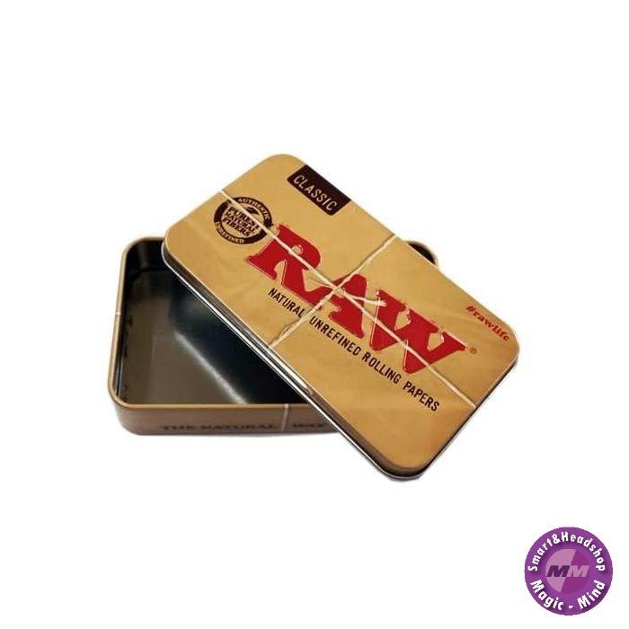 Raw RAW Tin Case 11.5cm x 6.5cm x 2.4cm