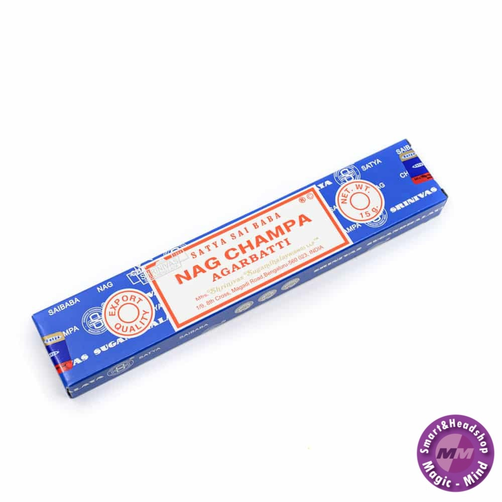Nag Champa Incense Nag Champa Agrabatti 15 gr (4 pack)
