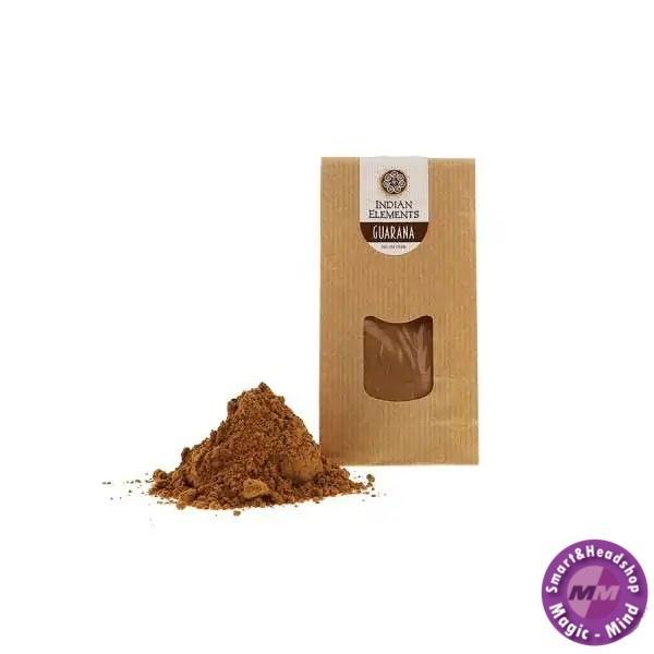INDIAN ELEMENTS Guarana poeder - 50 gram