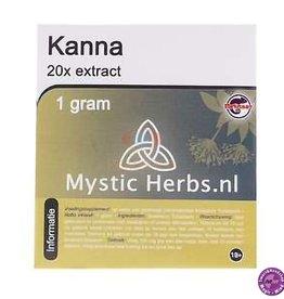 Mystic Herbs Kanna extract 20X 1 gram