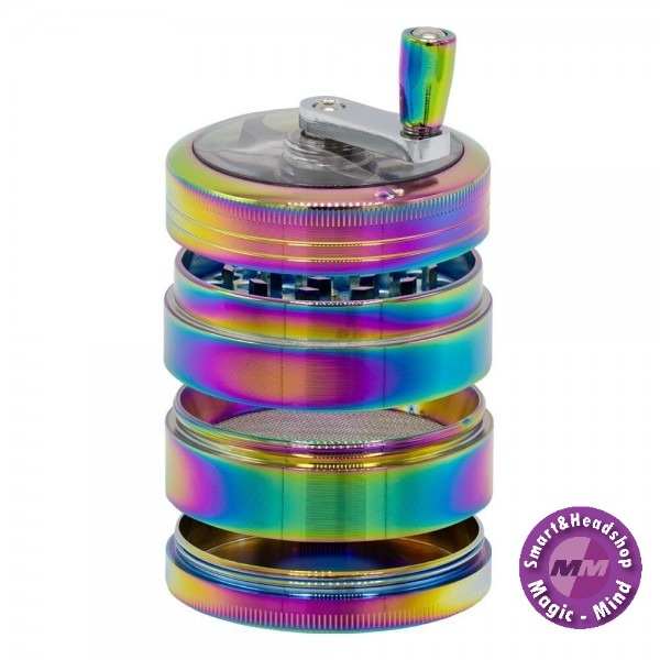 Grace glass Grace Glass Amsterdam   Rainbow Grinders - 4part