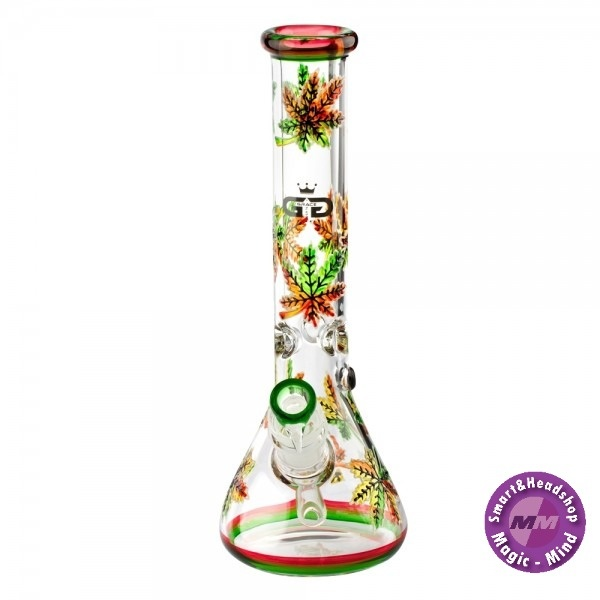 Grace glass Grace Glass | CRYSTAL Series | Beaker Bong Glow in the Dark H:32cm - Ø:52mm - SG:29.2mm
