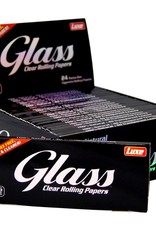 Glass  GLASS KING SIZE TRANSPARENT CELLULOSE PAPERS
