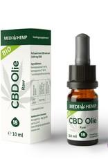 Medihemp Medihemp Raw 18% CBD oil (10ml) - natural flavor