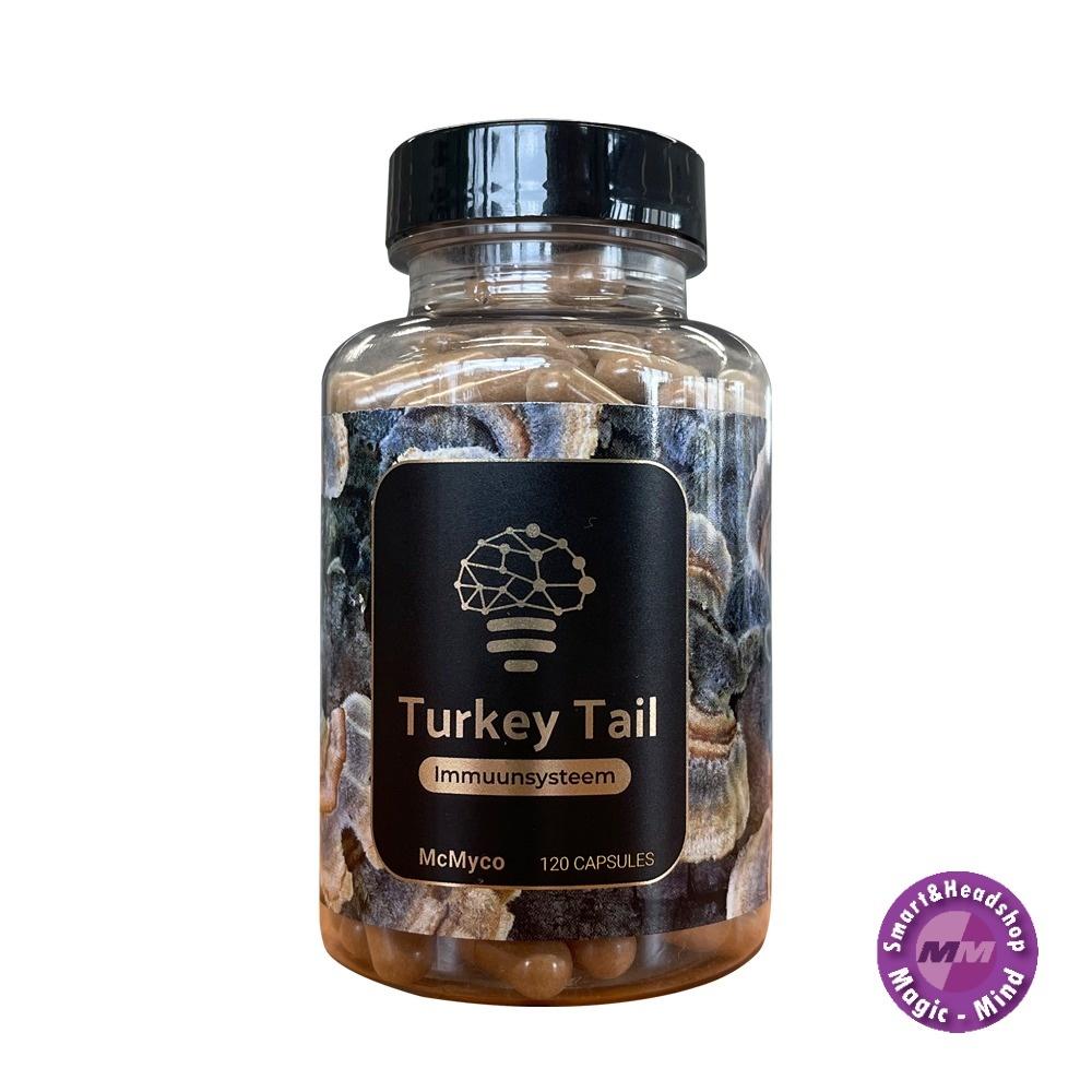 McMyco Turkey Tail (Coriolos Vericolor)